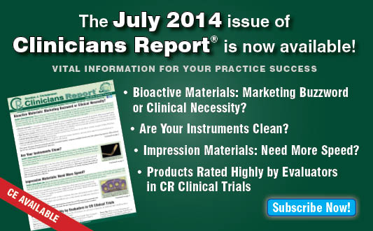 July 2014 Clincians Report