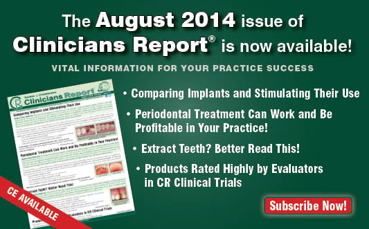 August 2014 Clincians Report