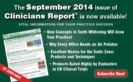 September 2014 Clincians Report