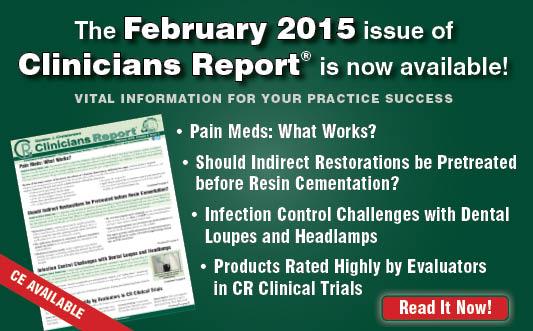 February 2015 Clinicians Report