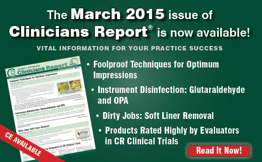March 2015 Clinicians Report