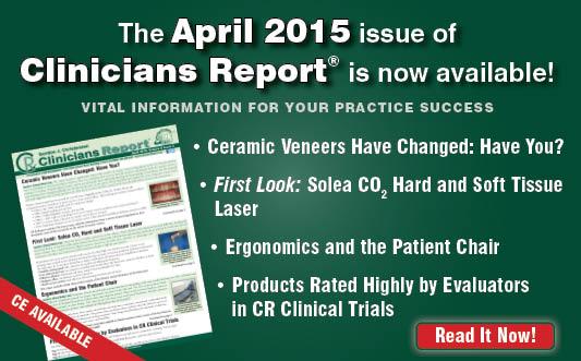 April 2015 Clinicians Report