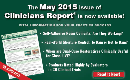 May 2015 Clinicians Report