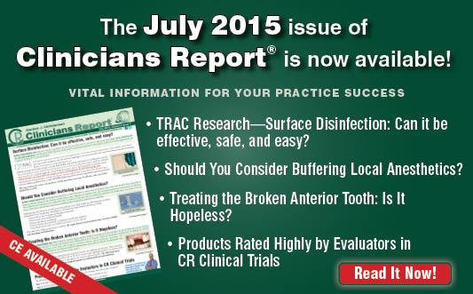 July 2015 Clinicians Report