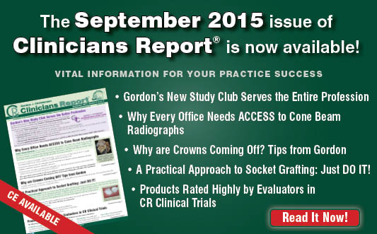 September 2015 Clinicians Report