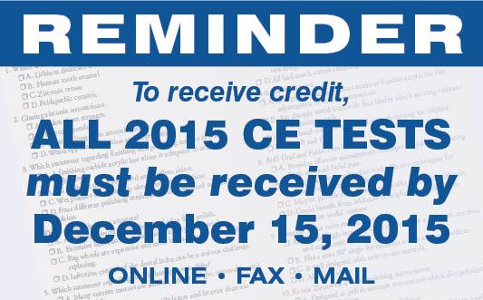 CE Deadline