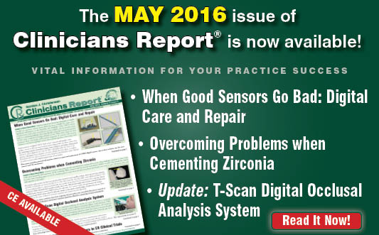 May 2016 Clinicians Report