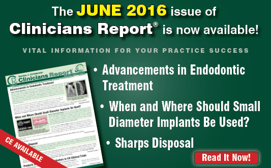 June 2016 Clinicians Report
