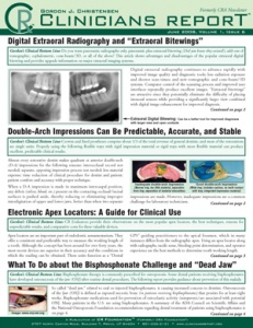 Digital Extraoral Radiography and Extraoral Bitewings, June 2008 Volume 1 Issue 6 - 200806 - Dental Reports