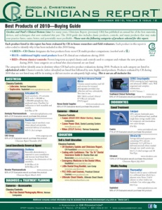 Buying Guide- December 2010 Volume 3 Issue 12 - 201012 - Dental Reports