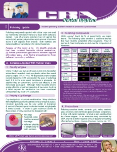 Polishing Update- May/June 2003 Volume 3 Issue 3 - h200305 - Hygiene Reports