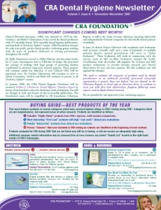 Buying Guide- November/December 2007 Volume 7 Issue 6 - h200712 - Hygiene Reports