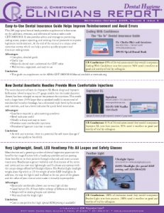 Highly Rated Products- September/October 2009 Volume 2 Issue 5 - h200910 - Hygiene Reports