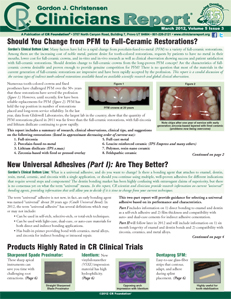 Universal Adhesives, PFM, Full Ceramic Restorations- March 2012 Volume 5 Issue 3 - 201203 - Dental Reports