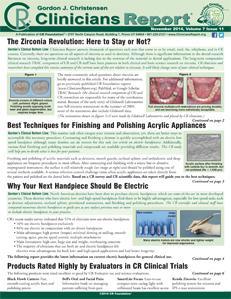 November 2014 Clinicians Report