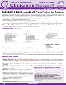 May/June 2016 Hygiene Report