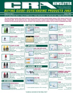 Buying Guide- January 2004 Volume 28 Issue 1 - 200401 - Dental Reports