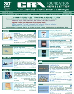 Buying Guide CRA Newsletter December 2006, Volume 30 Issue 12 - 200612 - Dental Reports