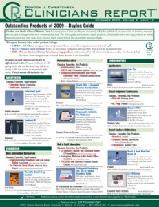 CR Buying Guide: Clinicians Report December 2009, Volume 2 Issue 12 - 200912 - Dental Reports