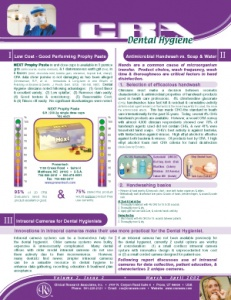 Prophy Paste, Antimicrobial Handwash, Intraoral Cameras- March/April 2002 Volume 2 Issue 2 - h200203 - Hygiene Reports