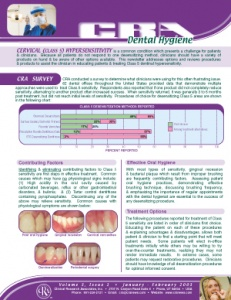 Dental Hygiene Newsletter January/February 2003, Volume 3 Issue 1 - h200301 - Hygiene Reports