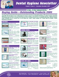 Buying Guide- November/December 2005 Volume 5 Issue 6 - h200512 - Hygiene Reports