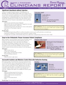 Highly Rated Products- March/April 2009 Volume 2 Issue 2 - h200904 - Hygiene Reports