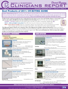 Buying Guide- November/December 2011 Volume 4 Issue 6 - h201112 - Hygiene Reports