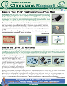 Products Real World Practitioners Use and Value Most-  April 2012 Volume 5 Issue 4 - 201204 - Dental Reports