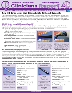 Dental Hygiene Clinicians Report May/June 2013, Volume 6 Issue 3 - h201306
