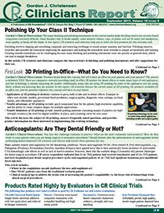 September 2017 Clinicians Report