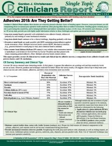 Adhesives 0518 ST