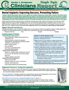 Dental Implants 0518 ST
