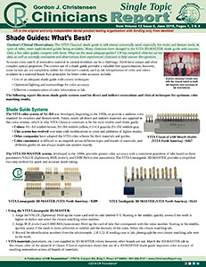 Shade Guides 0619 ST