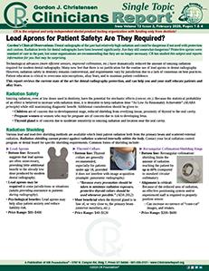 Lead Aprons 0220 ST