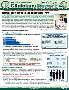 Women in Dentistry 0221 ST