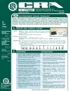 CRA Newsletter May 2002, Volume 26 Issue 5 - 200205 - Dental Reports
