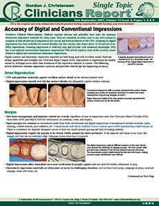 Digital vs. Conventional Impressions 0921 ST
