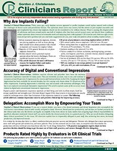 September 2021 Clinicians Report
