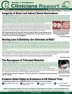 October 2021 Clinicians Report