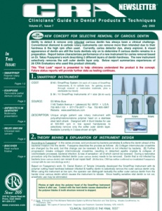 CRA Newsletter July 2003, Volume 27 Issue 7 - 200307 - Dental Reports